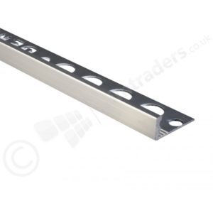 12mm Aluminium Straight Edge Trims