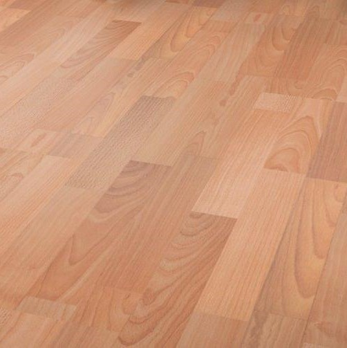 3 strip Beech 7mm Laminate Flooring Sale athalia