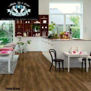 Avana Braun 7mm Laminate Flooring + Underlay (R219.90/M2)