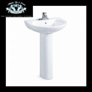Basin & Pedestal Set