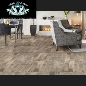 Ottawa Brown Tile Matt Tile + Cement & Grout (R169.90/M2)