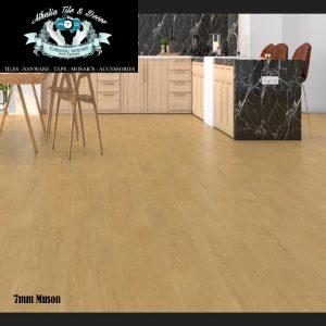 Muson 7mm Laminate Flooring + Underlay (R199.90/M2)